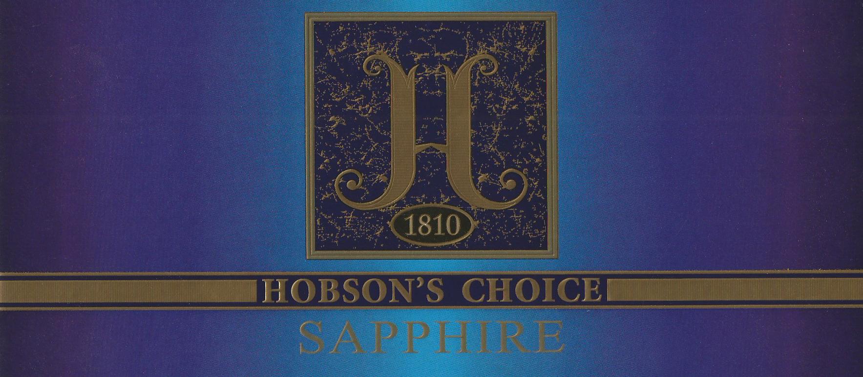 Hobson's Choice Sapphire